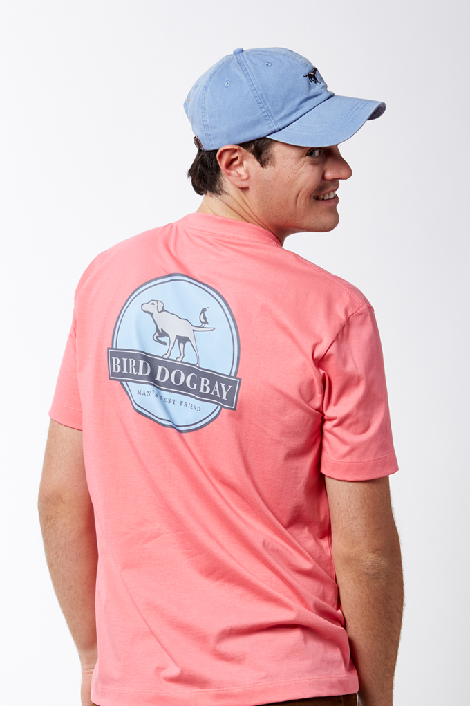 BDB Pocket Tee - Coral