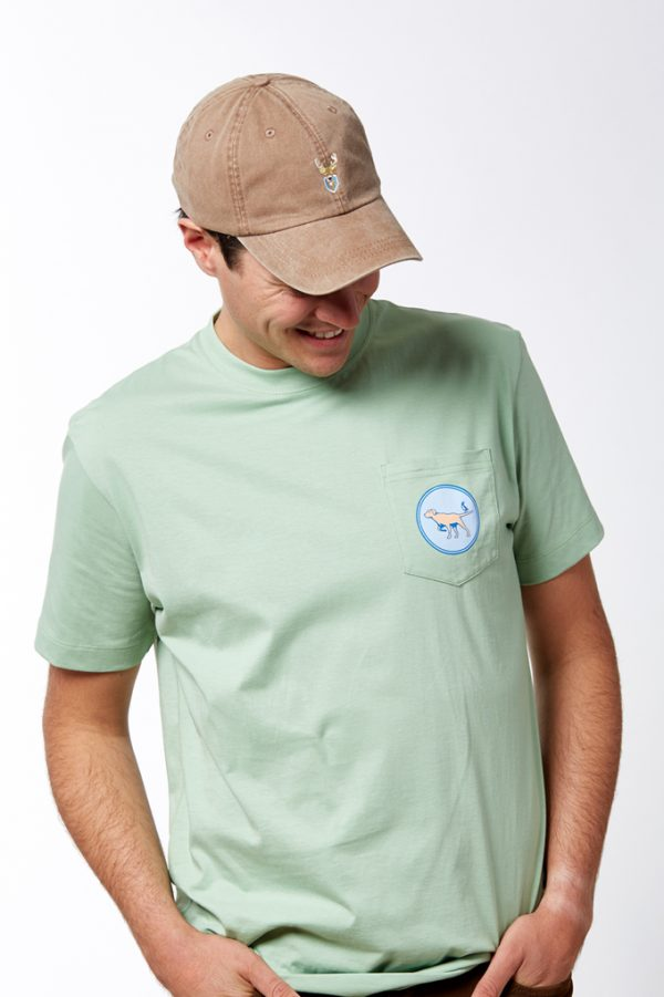 Pointer Pocket Tee - Mint