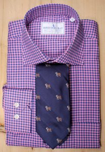 Bedford & Pedigree Bulldog Necktie