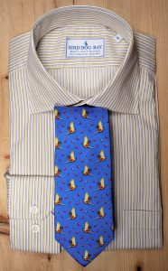 Chatham & Pheasantly Surprised Necktie