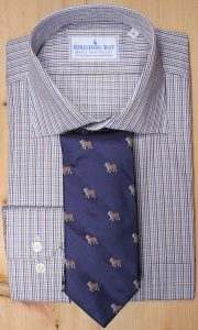 Rockwell & Pedigree Bulldog Necktie