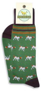 Pointer Parade: Socks - Green