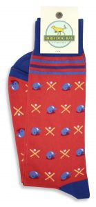 Batter Up: Socks - Red