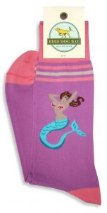 Mermaid Selfie: Socks - Violet