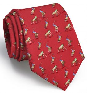 Polo Match: Tie - Red