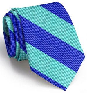 Clarkson Stripe: Tie - Mint/Blue