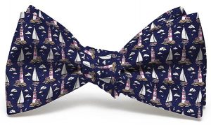 Welcome Ashore: Boy's Bow - Navy