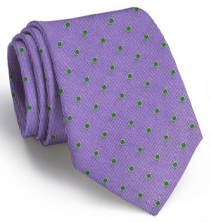 Spot On: Tie - Violet/Green