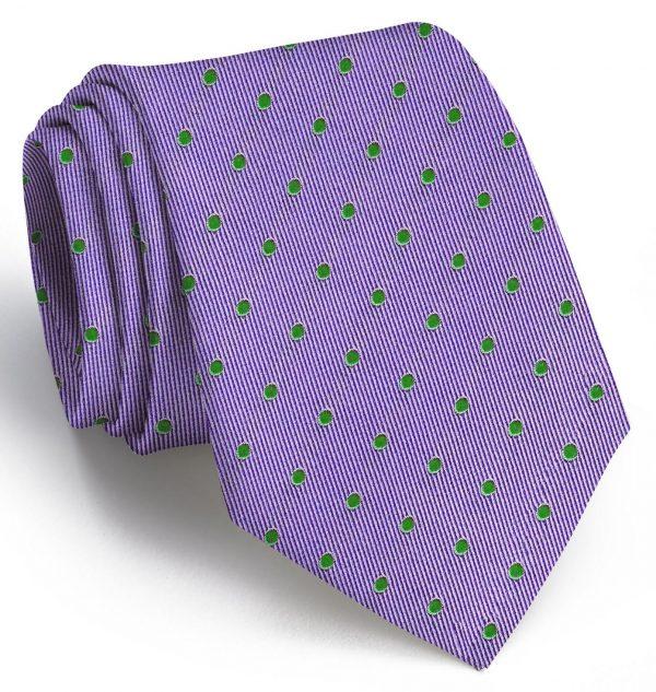 Spot On: Tie - Violet/Green