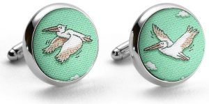 In Flight Meal: Cufflinks - Mint