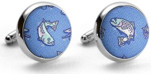 Upstream Battle: Cufflinks - Blue
