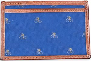 Cyclist: Card Wallet - Blue