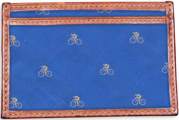 Cyclist: Card Wallet - Blue