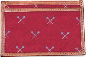 Lacrosse: Card Wallet - Red