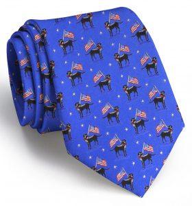 American Labs: Tie - Mid Blue