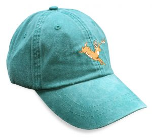 Jumping Deer Sporting Cap - Green