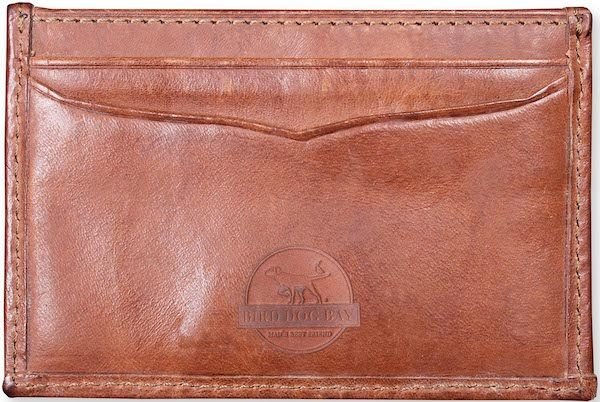 Woody: Card Wallet - Pink