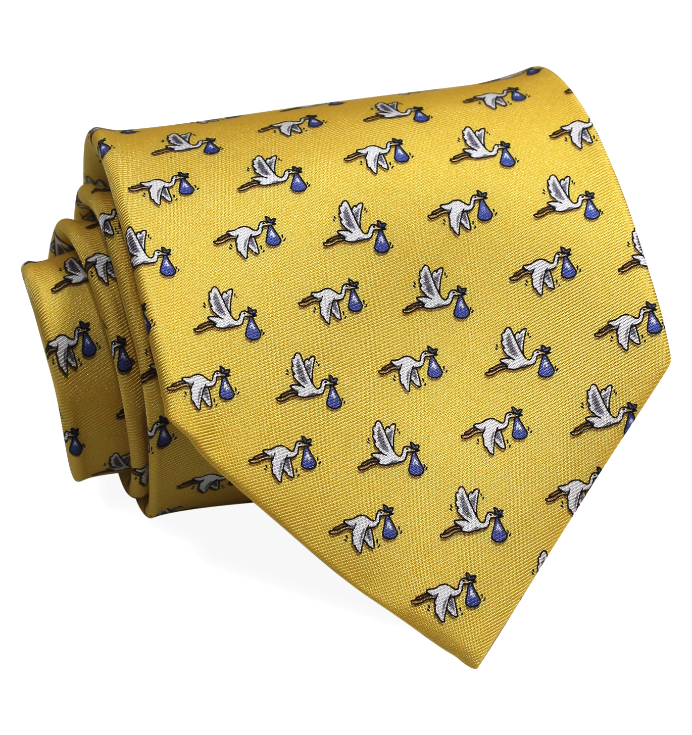 1st Class Delivery, Boy: Tie - Yellow
