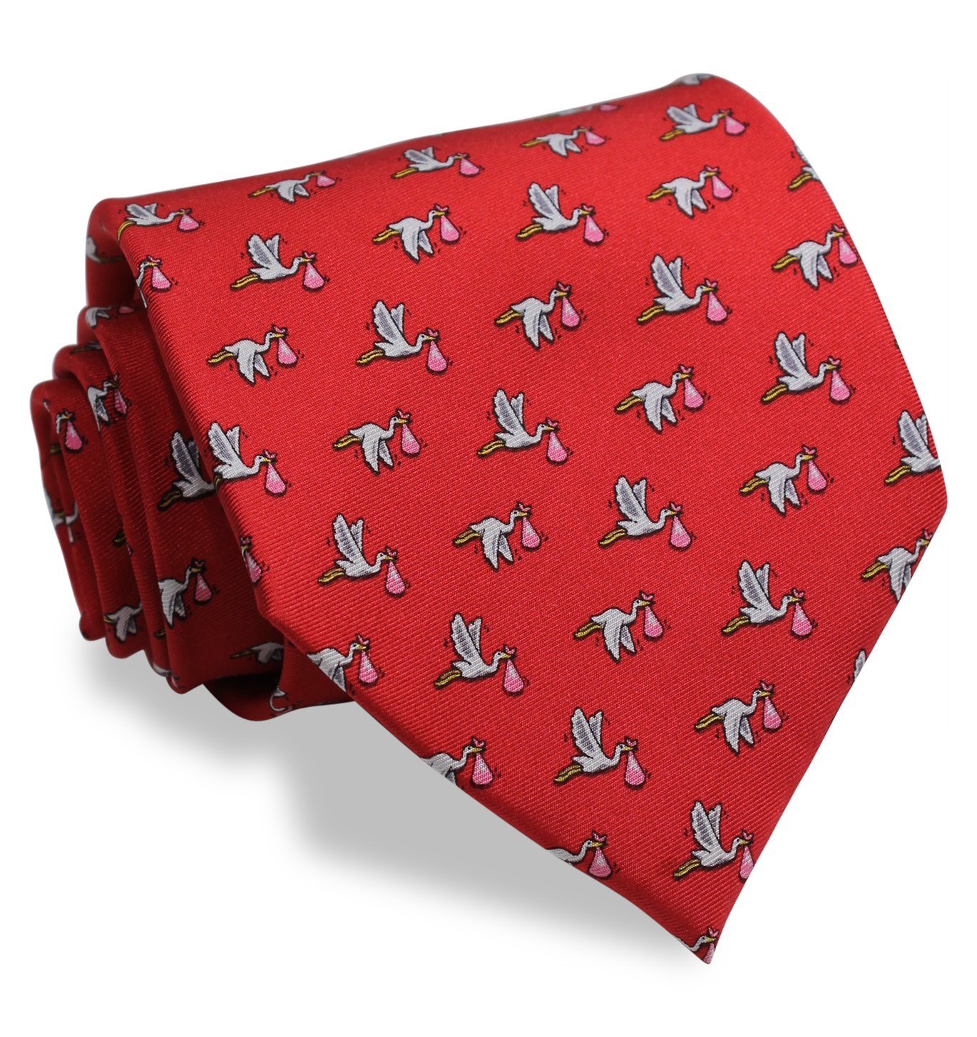 1st Class Delivery, Girl: Tie - Red
