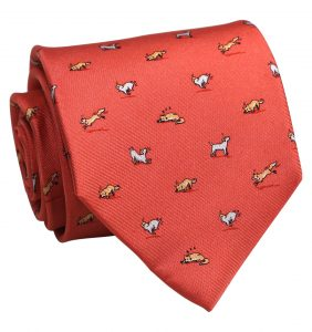 Out Foxed: Tie - Coral
