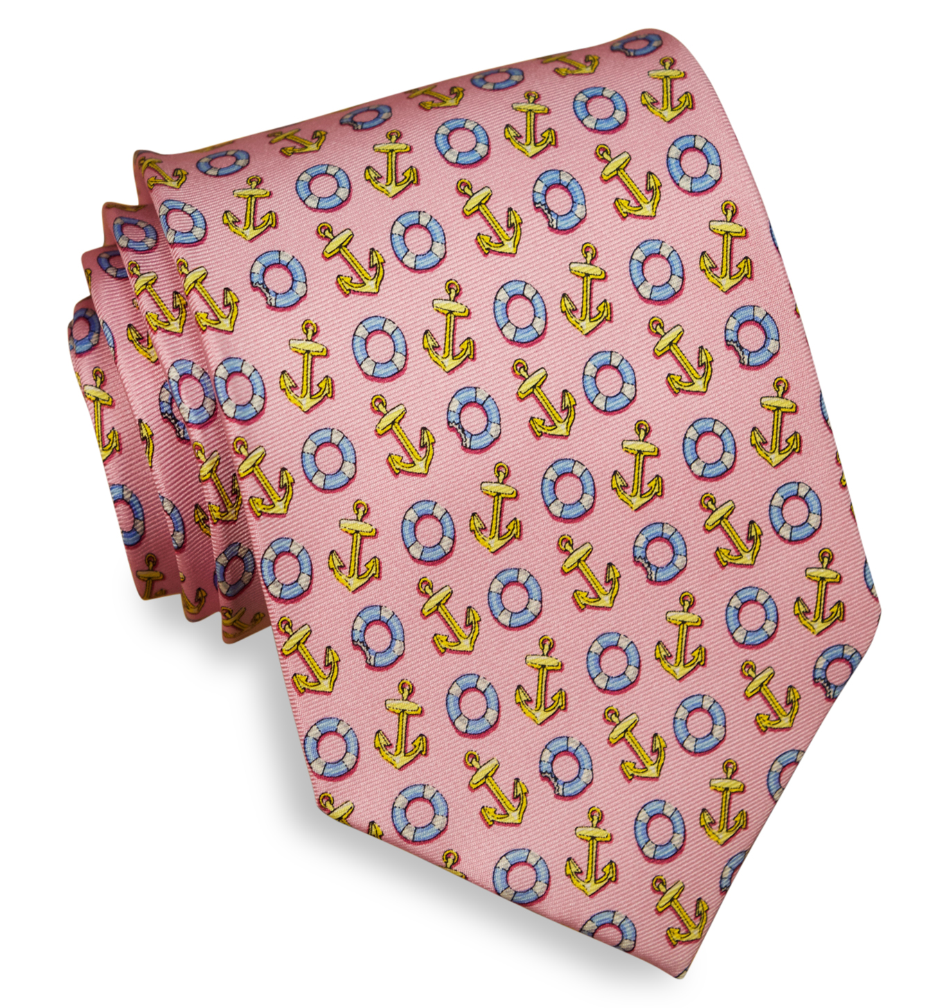 Anchors Aweigh: Tie - Pink
