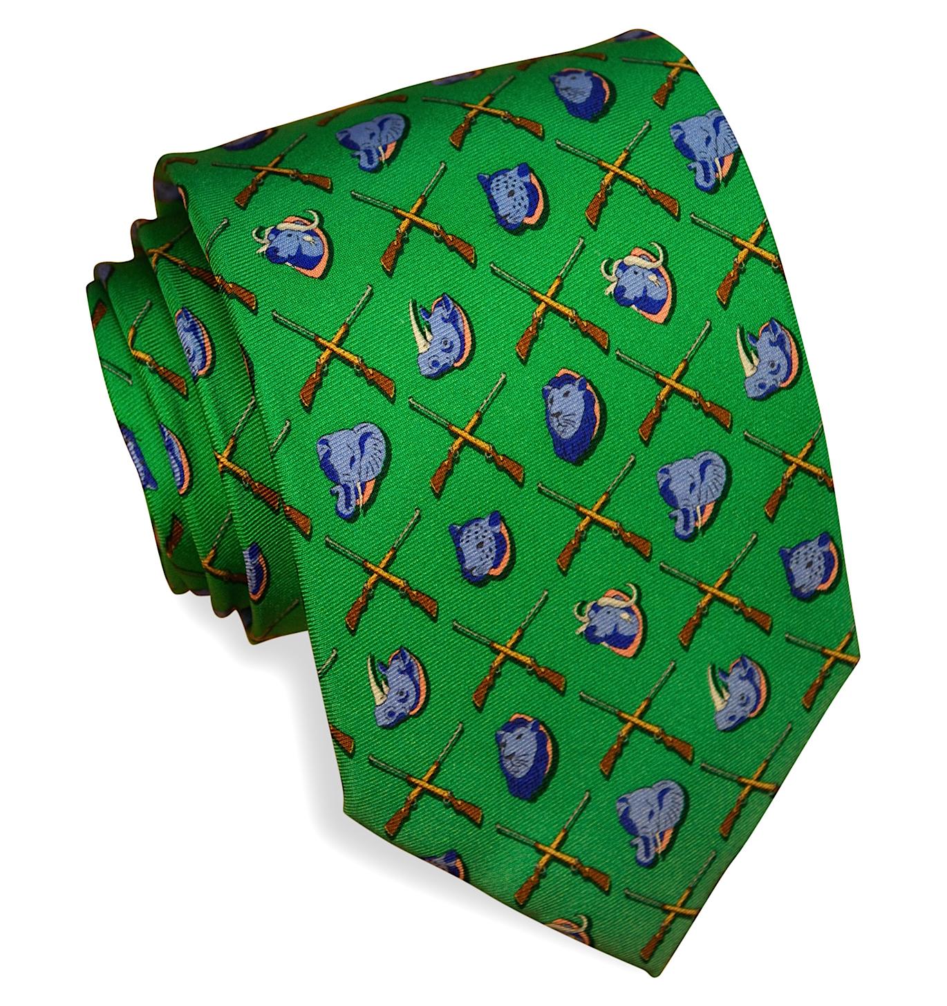 Trophy Room: Tie - Green