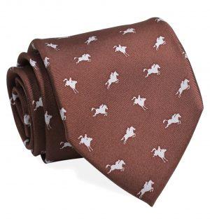 Equestrian Spot: Tie - Brown