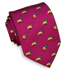 Armadillo Crossing: Tie - Magenta
