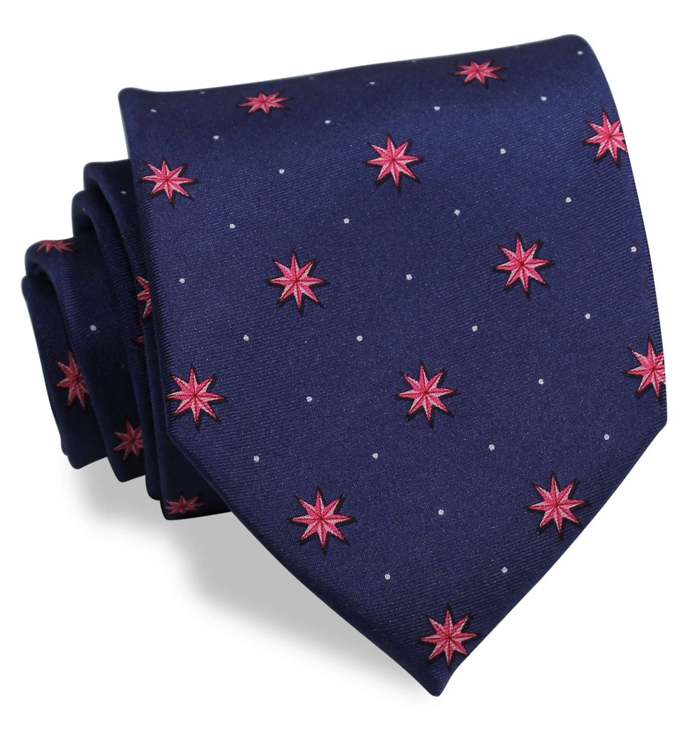 Starry Night: Tie - Navy