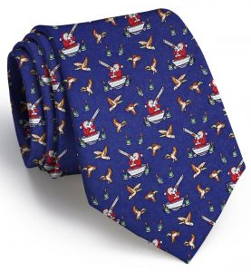 Crack Shot Kringle: Tie - Navy