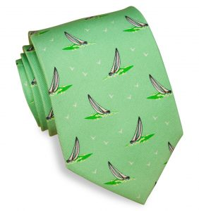 Smooth Sailing: Tie - Mint