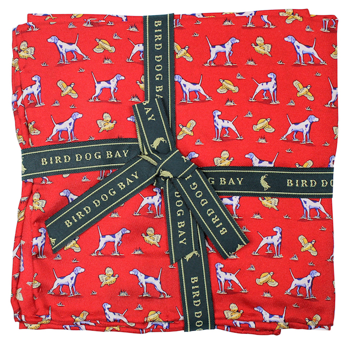 Point and Shoot: Pocket Square - Red