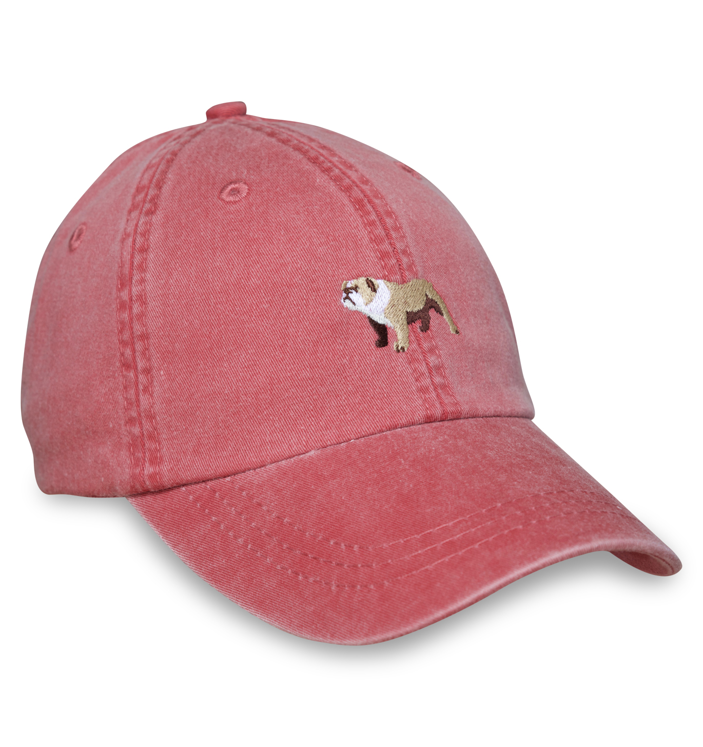 Bulldog Sporting Cap - Red - Bird Dog BayBird Dog Bay 8e9e771e4c9