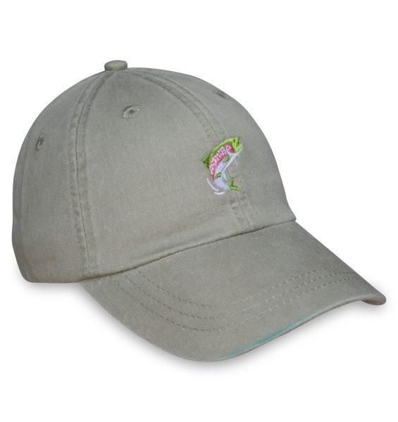 Trout Sporting Cap - Khaki
