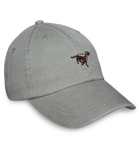 Chocolate Lab Sporting Cap - Stone
