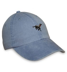 Black Lab Sporting Cap - Blue