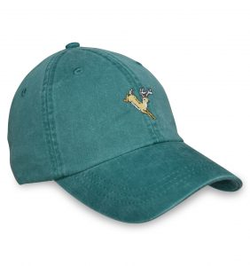 Jumping Deer Sporting Cap - Green