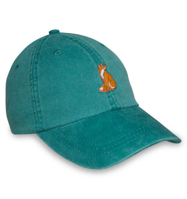 Sittin' Fox Sporting Cap - Green
