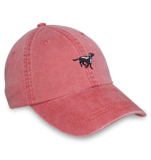 Black Lab Sporting Cap - Red