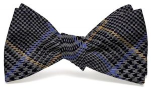 Hermann Plaid: Bow - Gray