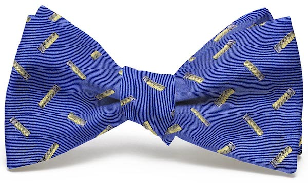 Shotgun Shells English Woven Pedigree: Bow - Blue