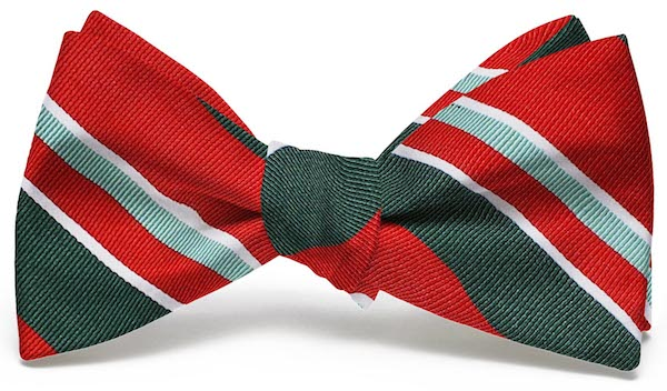 Wayfair Stripe: Bow - Red/Green