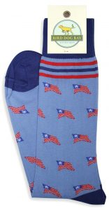 Old Glory: Socks - Blue