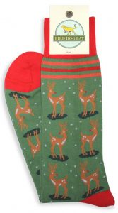 Rudolph Mixer: Socks - Green