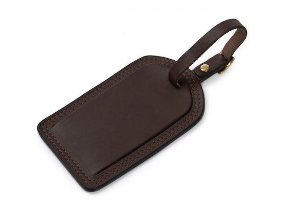 Miller: Luggage Tag - Mahogany