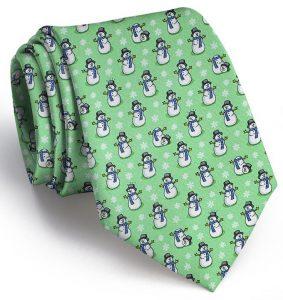 A Frosty Joke: Tie - Mint
