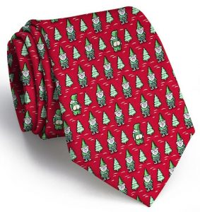 Cheeky Elves: Tie - Red