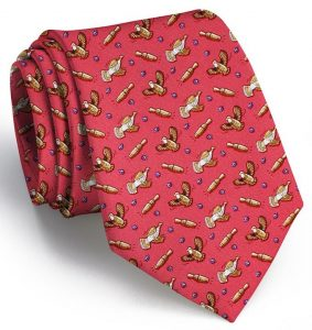 Covey Call: Tie - Coral