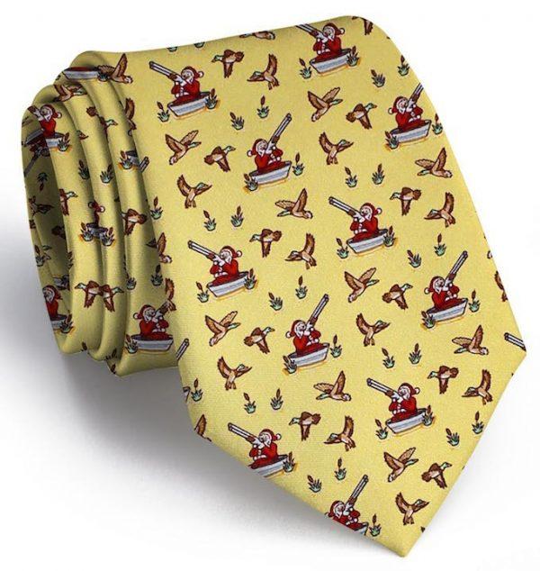 Crack Shot Kringle: Tie - Yellow