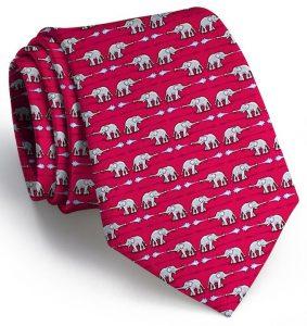 Elephant Bath: Tie - Red